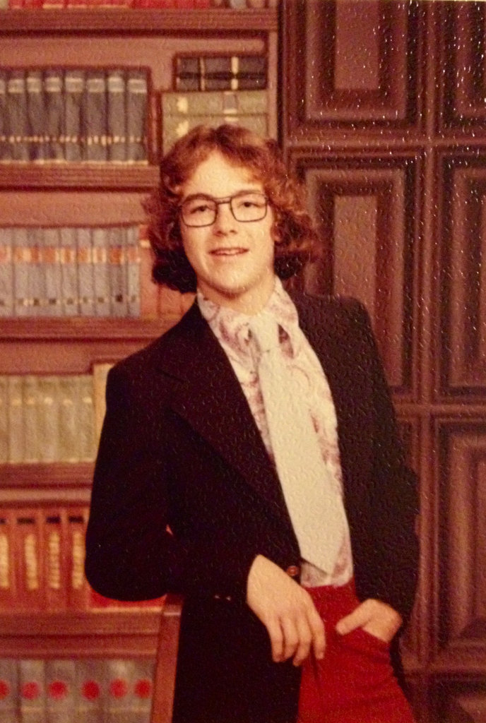 """Look how stylish my dad was with his red pants and paisley! My sister and I laugh about this picture, but I would probably wear this today."" — Jeff Masters, PopSugar Studios"