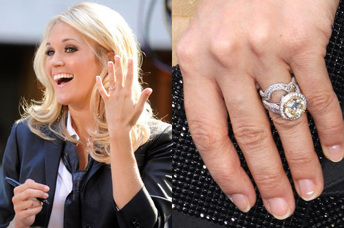Before you get too caught up in showing off your bling like Carrie Underwood, make sure to protect your engagement ring with jewelry insurance — just see Savvy's tips.