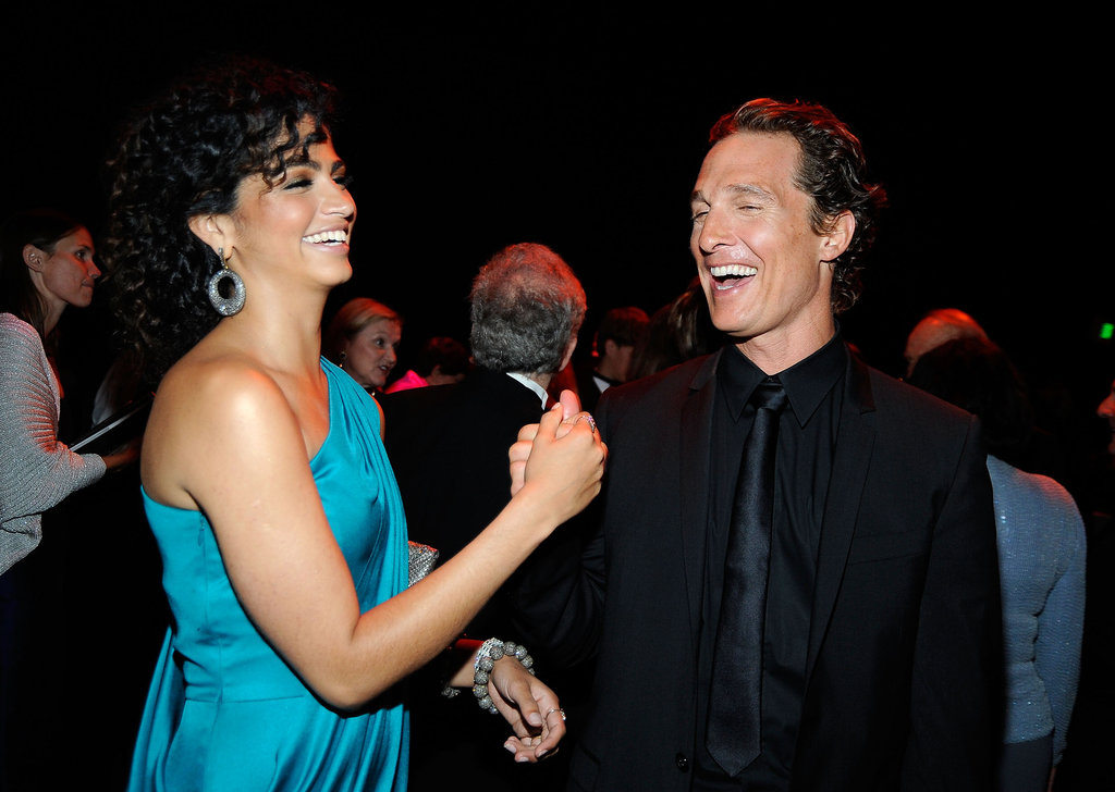 The duo made each other laugh at the January 2009 AFI Life Achievement Awards in LA.