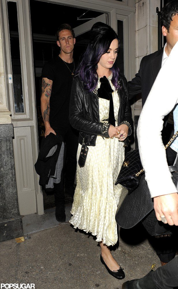 Katy Perry Reunites With Robert Ackroyd For a London Night Out