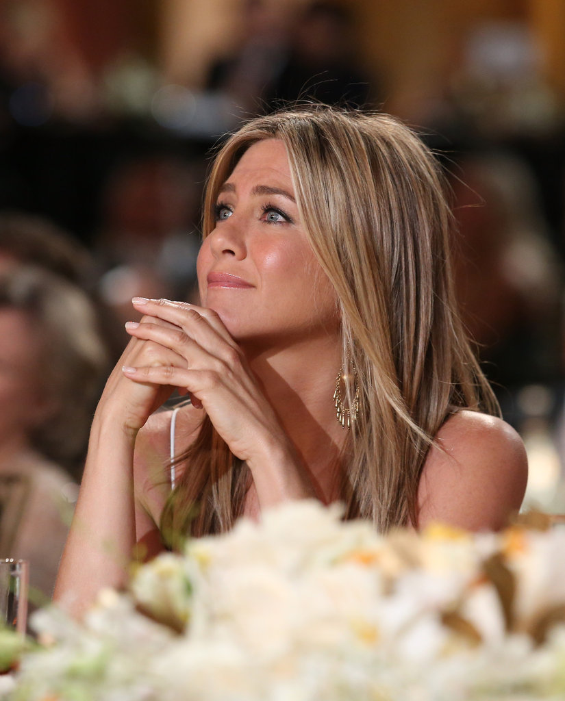 Jennifer Aniston attended an AFI gala in honor of Shirley MacLaine.