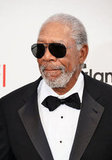 Morgan Freeman attended the AFI Life Achievement Award dinner honoring Shirley MacLaine in LA.