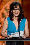 Sally Field took the stage at the AFI Life Achievement Award dinner honoring Shirley MacLaine in LA.