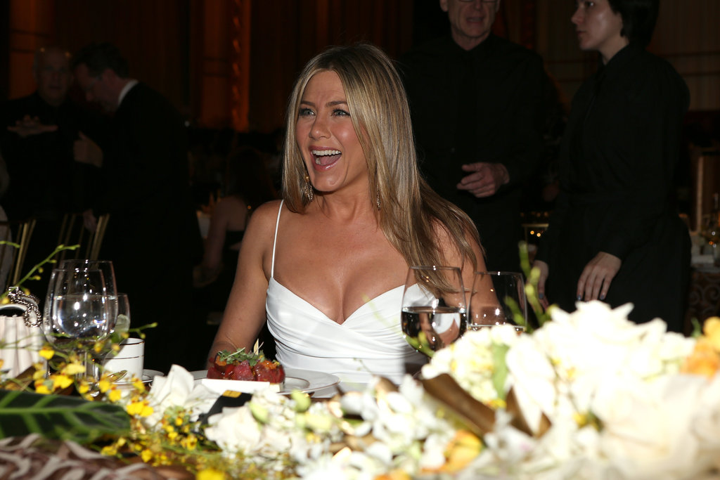 Jennifer Aniston attended an AFI gala in LA.