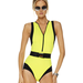 Looking to channel a Bond Girl on the beach? This little number has all the sexy details you need.
