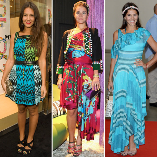 Margherita Missoni makes us want to channel her bold-hued style sense.