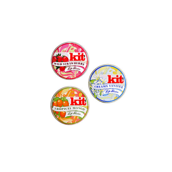 Kit Cosmetics Lip Balms, $16.95 each