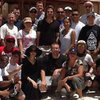 Brad Pitt Angelina Jolie Pictures With Troops in Egypt