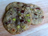 Pistachio, Hazelnut &amp; Chocolate Cookies