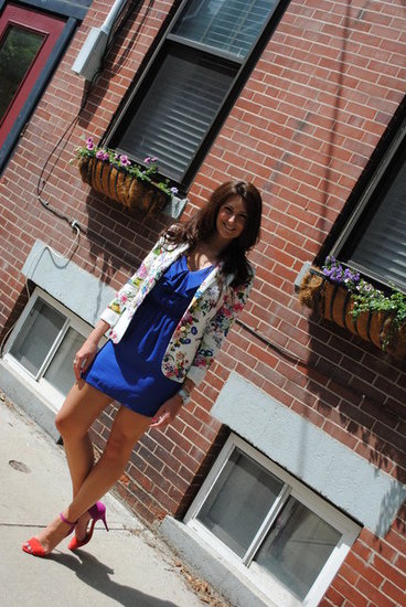 Floral Blazer For Wedding or Party