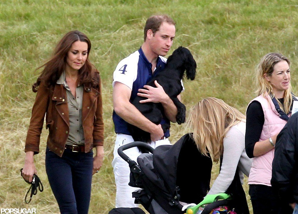Kate Middleton and Prince William attended a charity polo match together and brought Lupo.