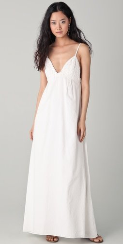 Dallin Chase Dani Swirl Eyelet Gown