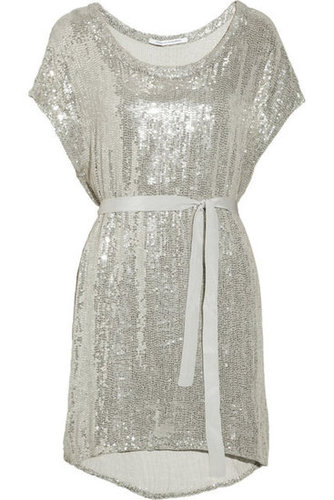 Diane von Furstenberg|Sol sequined silk-chiffon dress|NET-A-PORTER.COM