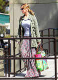 Jennifer Lawrence stayed busy running errands in LA.