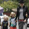 Gwen Stefani Pictures With Kingston and Zuma in Long Beach