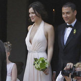 Katharine McPhee was a bridesmaid.
