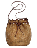 This open-weave bucket bag answers all our beach-bound prayers. BCBGeneration Woven Bucket Bag ($78)