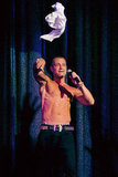 Joey Lawrence tossed his shirt into the crowd during a Chippendales show in Vegas last weekend.