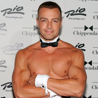 Joey Lawrence in Chippendales