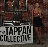 At The Tappan Collective party in LA, Harley exposed her midriff yet again in a printed bralet, high-waisted black miniskirt, and her favorite Marc by Marc Jacobs mouse flats.  7132155 Photo by John Marciniak