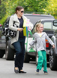 Jennifer Garner Spends a Giggle-Filled Afternoon With Violet