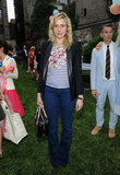 Greta Gerwig attended the Stella McCartney presentation in NYC.