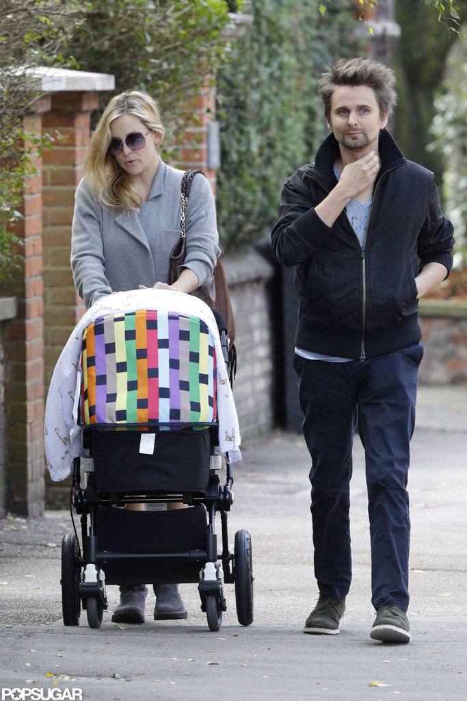 Matthew Bellamy became a first-time dad with the birth of little Bingham, who was born in July 2011, with Kate Hudson.