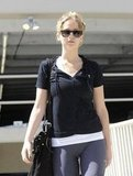 Jennifer Lawrence Hits the Gym Amid Hunger Games Casting News