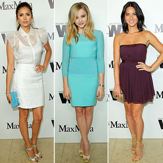 Nina Dobrev, Chloe Moretz at Max Mara Cocktail Party