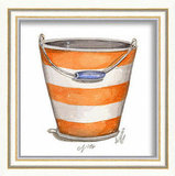 Posh Tots Beach Pail Framed Print ($40)