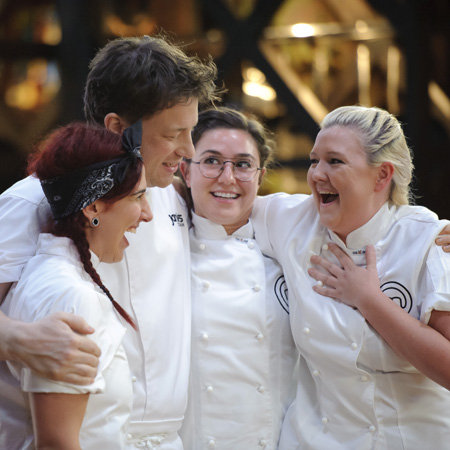 Jamie Oliver Pictures on MasterChef 2012