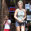 Britney Spears and Sons in Santa Barbara Pictures