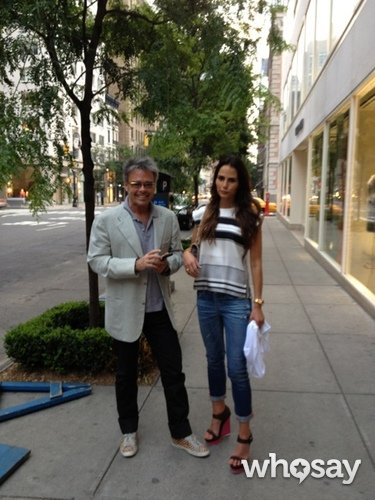 Jordana Brewster headed to dinner with her dad. Source: WhoSay user Jordana Brewster