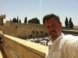 David Arquette shared a photo from his trip to Israel. Source: Twitter user davidarquette