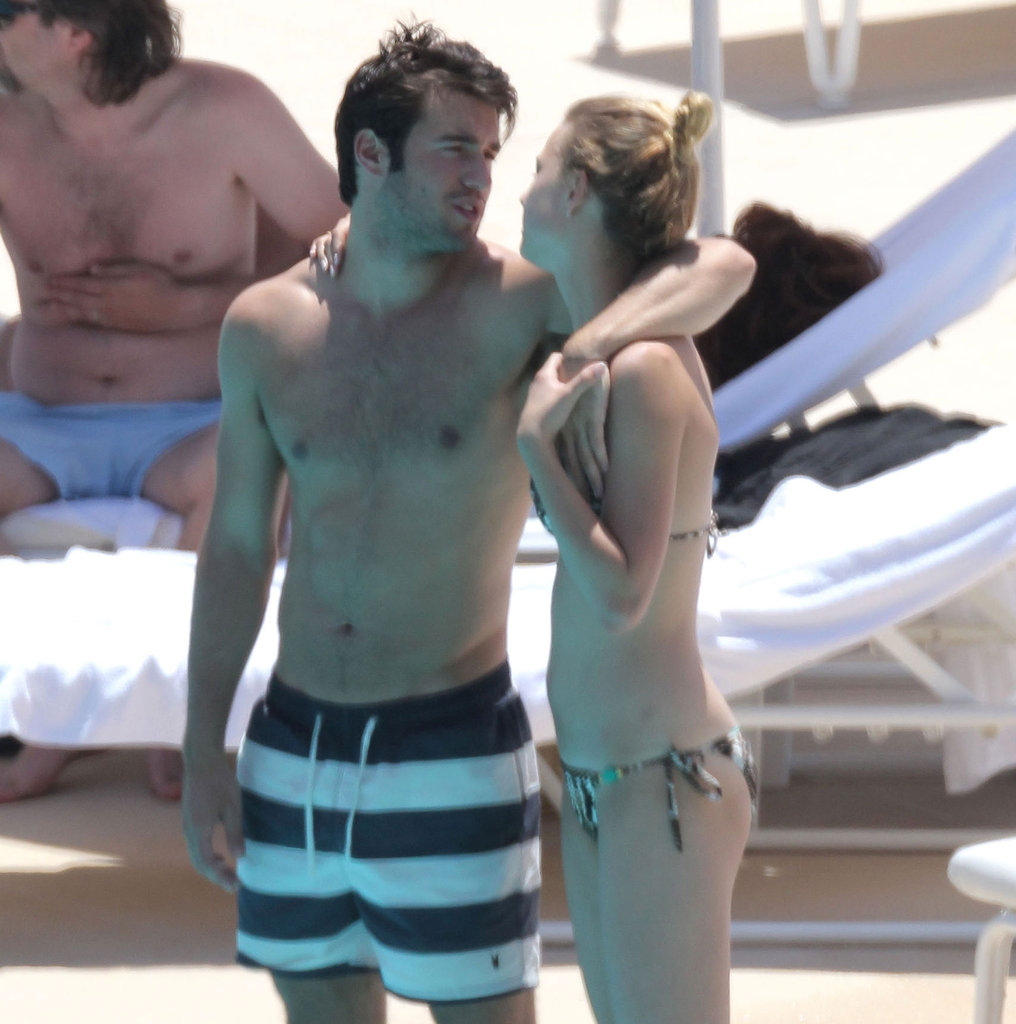 Bikini-Clad Emily VanCamp Shows PDA — And Reads Fifty Shades! — With Revenge Costar Joshua Bowman