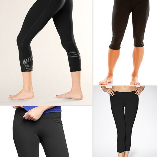 Basic Black Cropped Pants For Your Summer Workouts