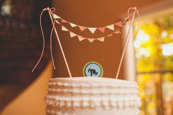 As Cake Topper Bunting