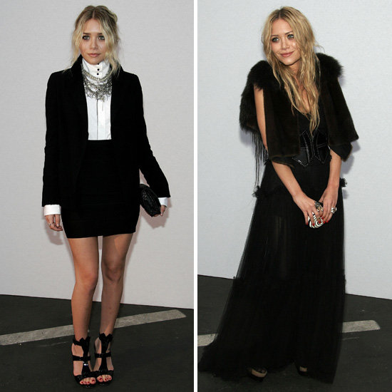 Elegant, dramatic yet understated — these girls do goth right.