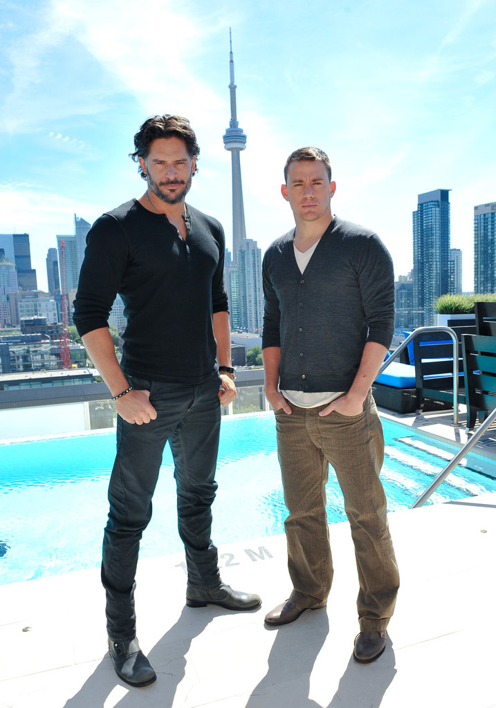 Channing Tatum and Joe Manganiello Take Their Hotness to Toronto For Magic Mike