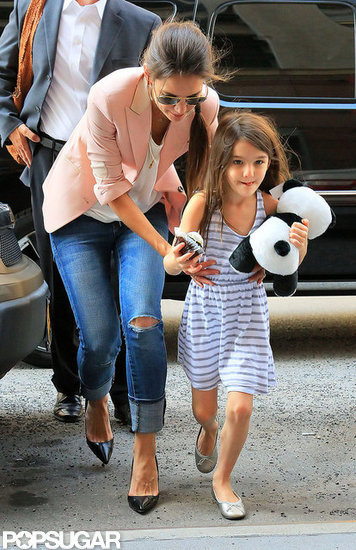 Katie Holmes and Suri Cruise Make a Sweet Stop