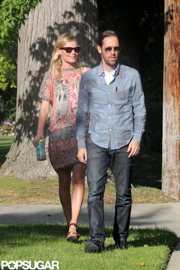 Kate Bosworth and Michael Polish were in LA together.