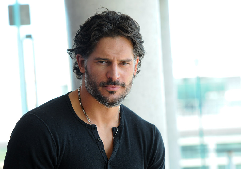 Joe Manganiello attended a press junket for Magic Mike in Toronto.