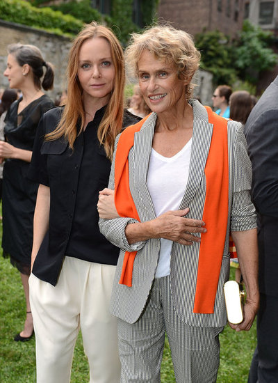 Stella McCartney and Lauren Hutton