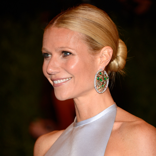 How To Get Gwyneth Paltrow's Bun