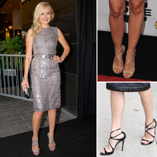 See Which Celebs Are All Over the Hottest Heels in Town: Jimmy Choo's Lance Sandals