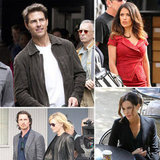 Tom Cruise, Salma Hayek, Christian Bale, and More Stars on Set