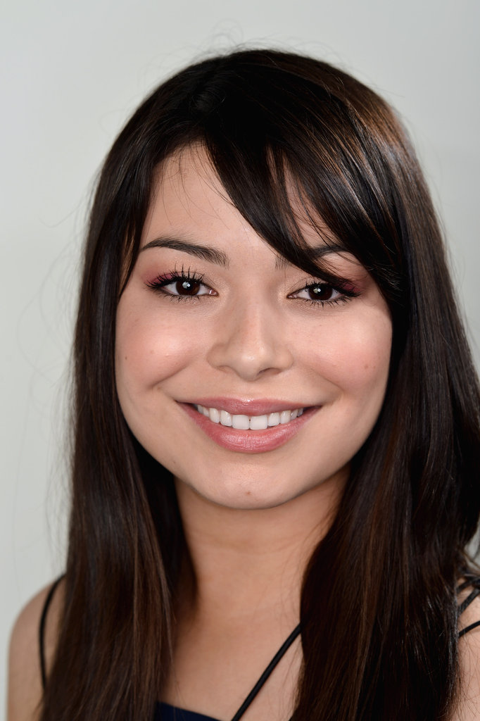 Miranda Cosgrove posed backstage at the Young Hollywood awards.
