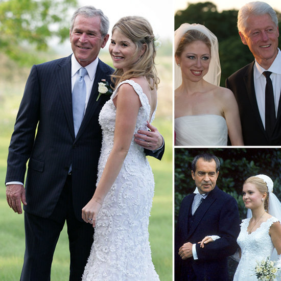 Très is taking a look at the famous first daughters that have walked down the aisle.