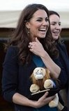 Kate Middleton Wears Zara For a Charitable Play in Kensington Gardens