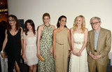 Costars Penelope Cruz, Greta Gerwig, Alison Pill, Alessandra Mastronardi, Simona Caparrini, and Woody Allen got together at the premiere of To Rome With Love in LA.